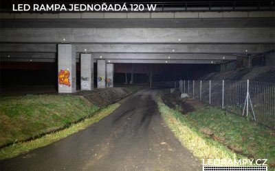 test led rampa jednořadá 120w