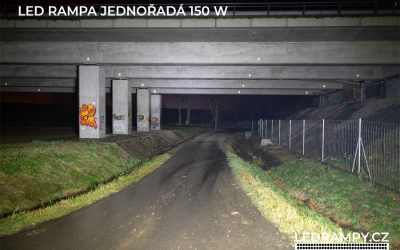 test led rampa jednořadá 150w