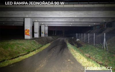 test led rampa jednořadá 90w